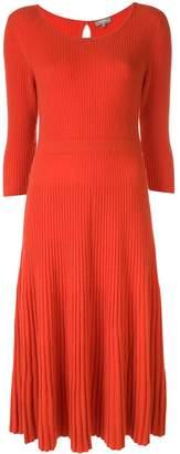 N.Peal midi ribbed knitted dress