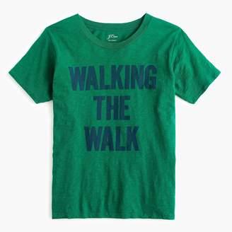 "J.Crew ""Walking the walk"" T-shirt"
