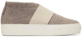 Diemme Beige Cassola Mid Sneakers