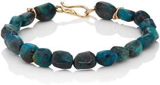 Dean Harris Men's Chrysocolla Beaded Bracelet