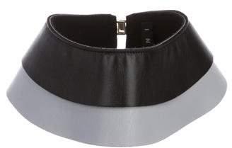 Marni Bi-Color Leather Collar