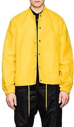 Helmut Lang Men's Ruched-Sleeve Nylon Coach's Jacket
