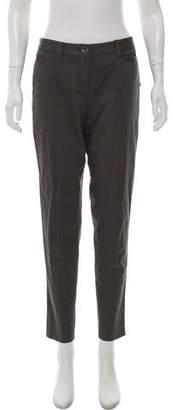 Magaschoni Mid-Rise Skinny Pants