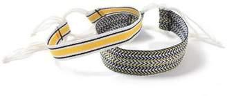 Topman Mens Yellow Black Western Buckle Bracelet Pack*