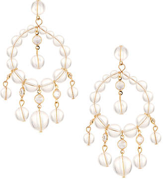 Fragments for Neiman Marcus Lucite® & Crystal Chandelier Earrings