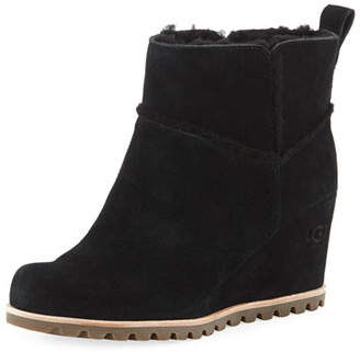 e949b4bb1b0f UGG Marte Wedge Suede Booties