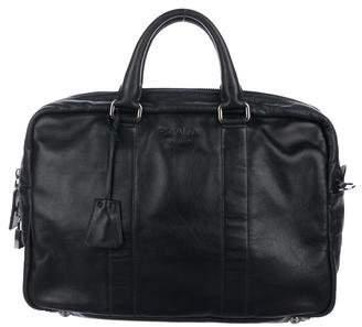 Prada Vitello Leather Briefcase