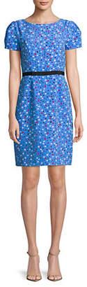 Isaac Mizrahi IMNYC Dot-Print Sheath Dress