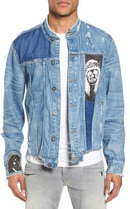 Hudson Blaine Crop Denim Jacket