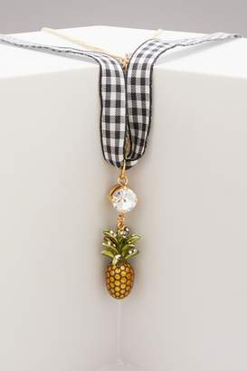 Miu Miu Pineapple necklace