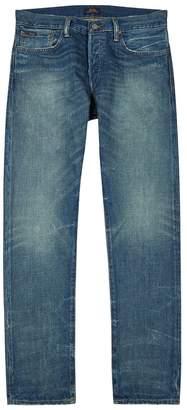 Polo Ralph Lauren Traverse Distressed Slim-leg Jeans