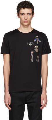 Fendi Black Super Bugs T-Shirt