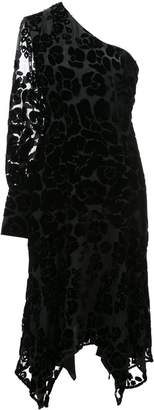 Josie Natori Burnout velvet dress