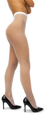 sofsy Fishnet Pantyhose Net Tights Nylon Stockings Lingerie [Made In Italy]