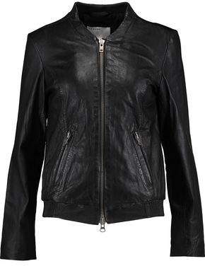 Muu Baa Muubaa Leather Bomber Jacket