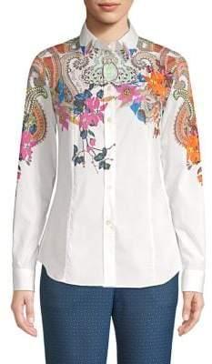 Etro Cotton Floral Shirt