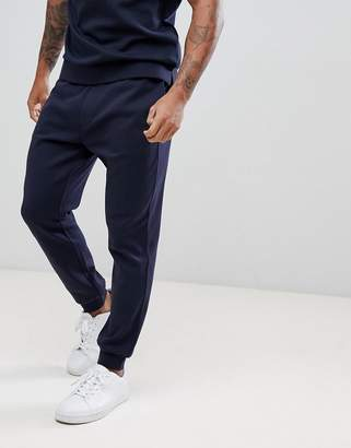 Armani Exchange Back Logo Sweat Joggers In Navy