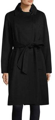 Sofia Cashmere Long Wrap Coat
