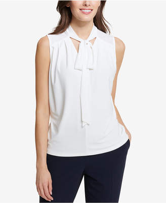 Tommy Hilfiger Tie-Neck Shell