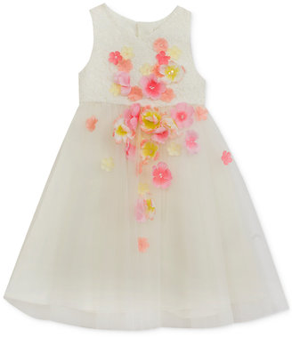 Rare Editions Ivory & Lace Dress, Toddler & Little Girls (2T-6X) $74 thestylecure.com