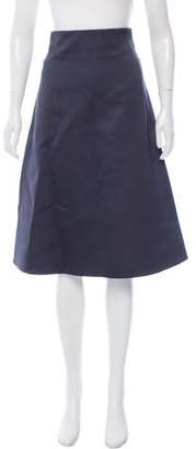 Muveil Satin A-Line Skirt w/ Tags