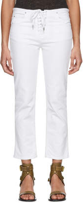 Isabel Marant White Rupster Jeans
