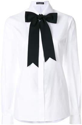 Dolce & Gabbana bow tie shirt