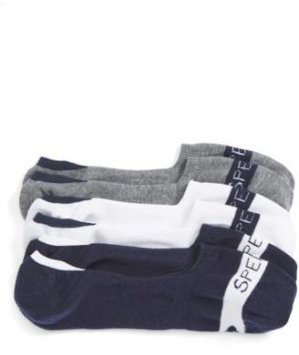 Men's Sperry Signature Assorted 3-Pack No-Show Socks $16 thestylecure.com