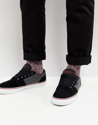 Etnies Barge LS Sneaker In Black