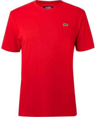 Lacoste Tennis Cotton-Blend Jersey Tennis T-Shirt