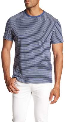 Original Penguin Denim Striped Short Sleeve Tee