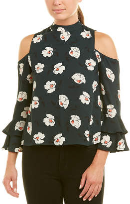 J.o.a. Cold-Shoulder Top