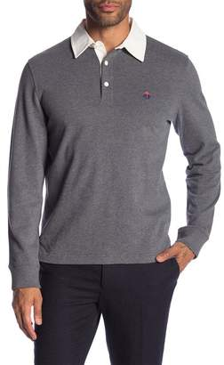 Brooks Brothers Long Sleeve Rugby Polo