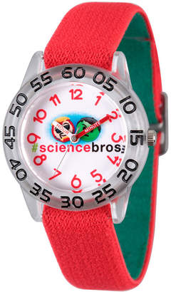 Marvel Emoji Boys Red Strap Watch-Wma000082