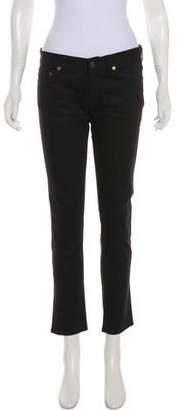 Saint Laurent D01 Mid-Rise Jeans