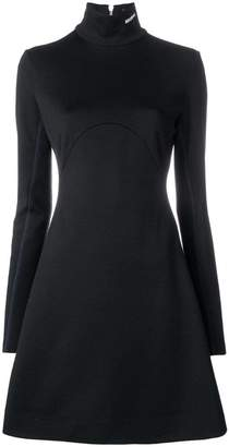 Calvin Klein turtle-neck flared sweater dress