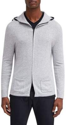 EFM-Engineered for Motion Swank Hooded Cashmere Sweater