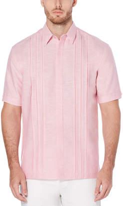 Cubavera Cross Dye Multi-Tuck Shirt