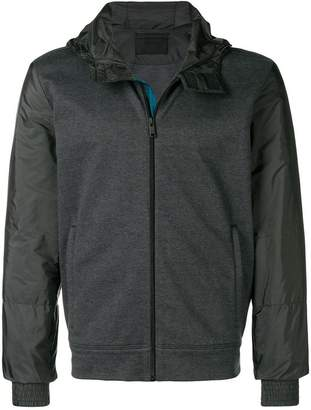 Prada jersey and shell jacket