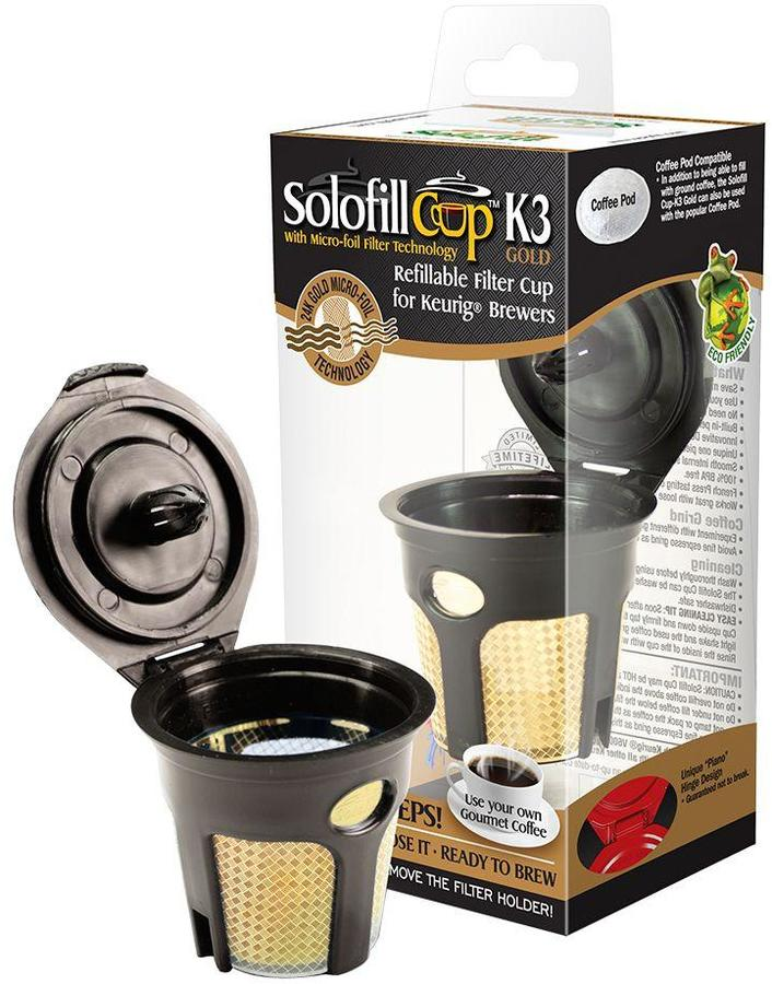 Solofill K3-Cup in Gold