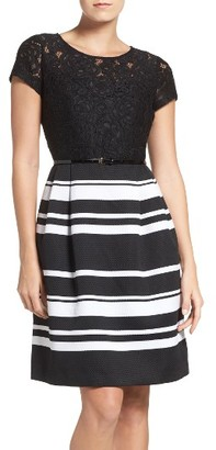Women's Ellen Tracy Fit & Flare Dress $138 thestylecure.com