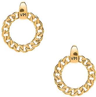 Vanessa Mooney The Members Only VM Logo Hoops