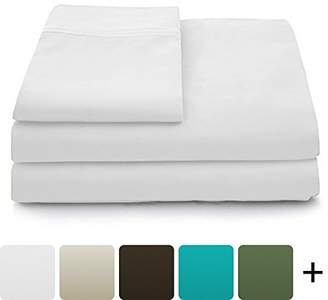 Blend of America Luxury Bamboo Sheets - 4 Piece Bedding Set - High From Organic Bamboo Fiber - Soft Wrinkle Free Fabric - 1 Fitted Sheet