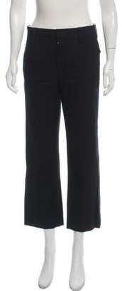 Marc Jacobs Wide-Leg Mid-Rise Pants Black Wide-Leg Mid-Rise Pants
