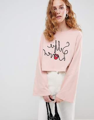 Monki logo cropped top