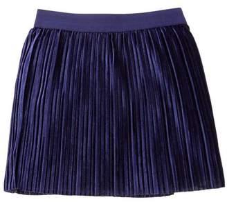 Gymboree Pleated Velvet Skirt