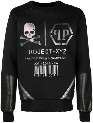 Philipp Plein LS XYZ Logos sweatshirt