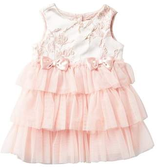 Nanette Lepore Jacquard Tulle Dress (Baby Girls)