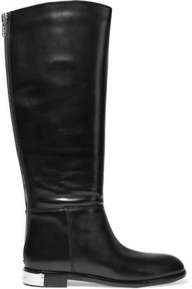 Marc By Marc Jacobs Woman Kip Leather Knee Boots Black Size 37 Marc Jacobs RRJQ2