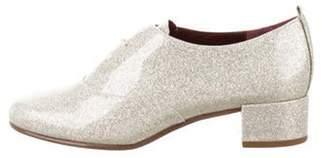 Marc Jacobs Diamond Glitter Oxfords w/ Tags Metallic Diamond Glitter Oxfords w/ Tags